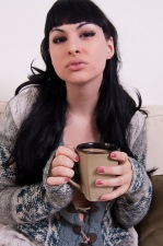 Beautiful tranny Bailey Jay has a sexy morning coffee break from Bailey Jay